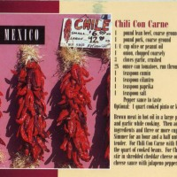 USA - New Mexico - Chili con carne